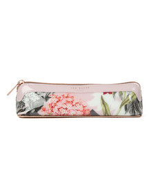 Ted Baker Womens Pink Isle Palace Gardens Pencil Case