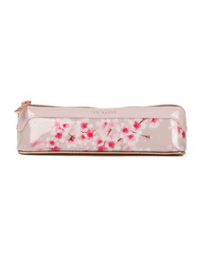 Ted Baker Womens Pink Glisade Soft Blossom Pencil Case
