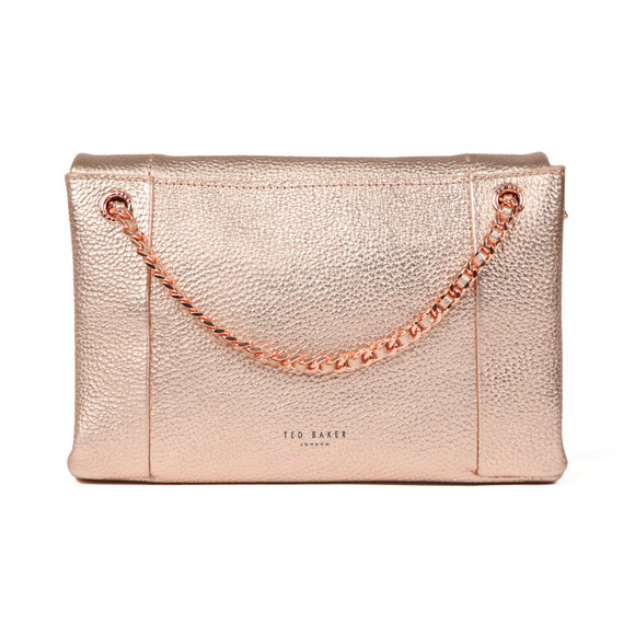 Ted Baker Womens Pink Parson Unlined Soft Leather Xbody Bag main image