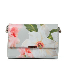 Ted Baker Womens Grey Prim Chatsworth Bloom Xbody Bag