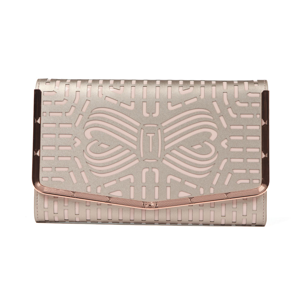 7633abdac86 Ted Baker Bree Cut Out Bow Clutch | Oxygen Clothing