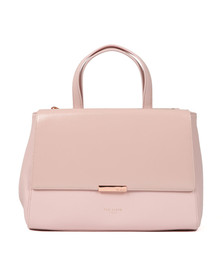 Ted Baker Womens Pink Dadelph Zipped Top Tote Bag