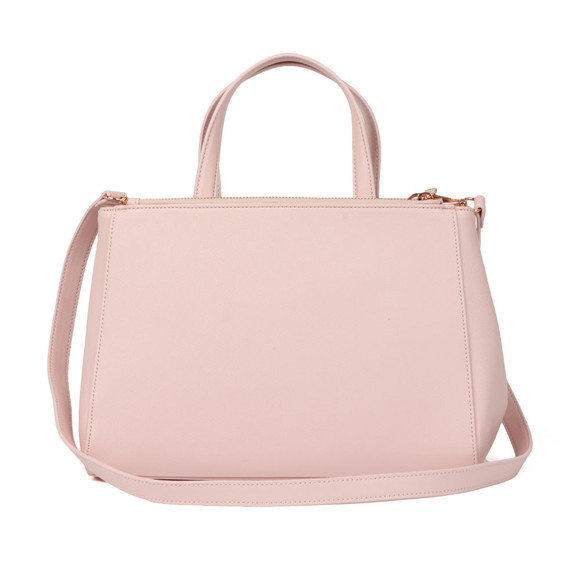 Ted Baker Womens Pink Dadelph Zipped Top Tote Bag main image