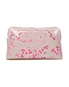 Ted Baker Womens Pink Laurie Soft Blossom Washbag