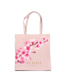 Ted Baker Womens Pink Pammcon Soft Blossom Large Icon Bag