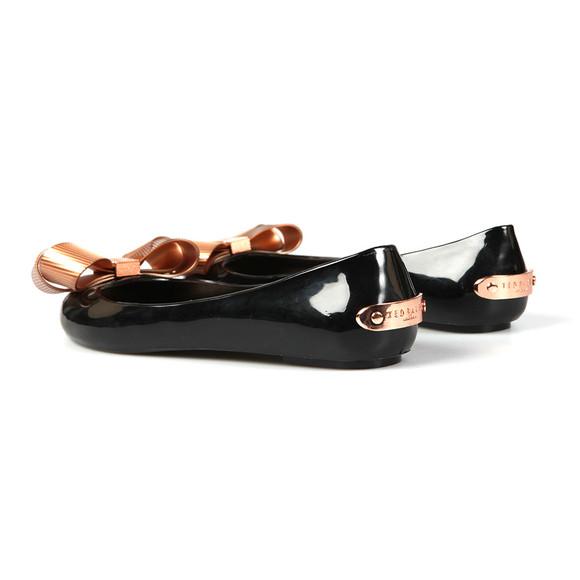 Ted Baker Womens Black Larmiar Bow Shoe main image