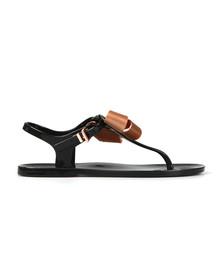 Ted Baker Womens Black Camaril Bow Sandal