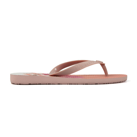 Ted Baker Womens Pink Beaulup Flip Flop main image