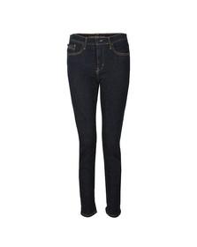 Calvin Klein Womens Blue Skinny High Rise Jean
