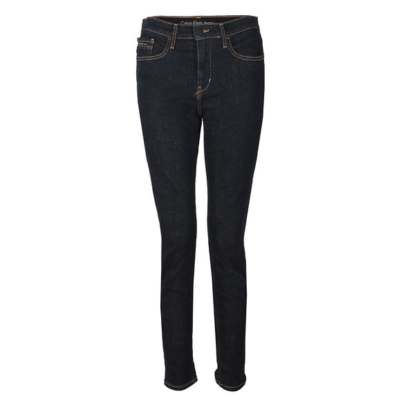 Calvin Klein Jeans Womens Blue Skinny High Rise Jean main image
