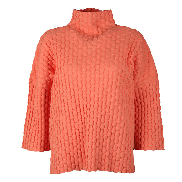 French Connection Womens Pink Mona Mozart High Neck Knit main image