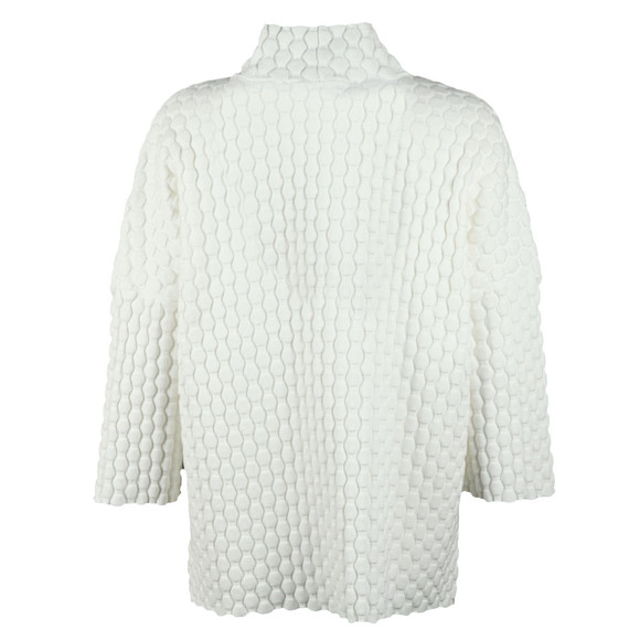 French Connection Womens White Mona Mozart High Neck Knit main image