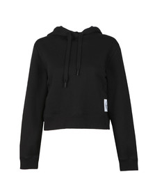 Calvin Klein Jeans Womens Black Harrison True Icon Hoody