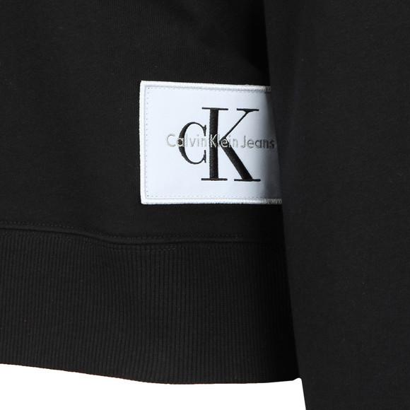 Calvin Klein Jeans Womens Black Harrison True Icon Hoody main image