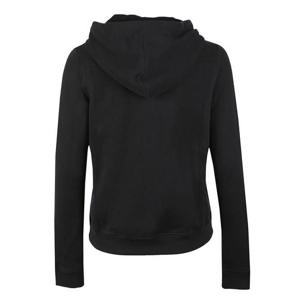 Calvin Klein Jeans Womens Black Howard True Icon Full Zip Hoody main image