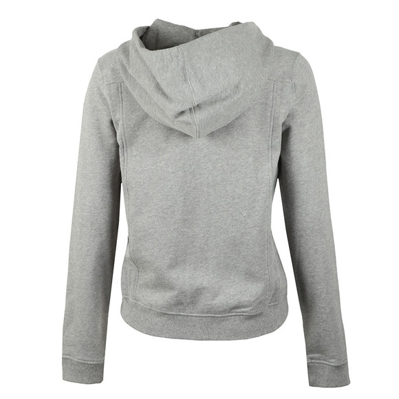 Calvin Klein Jeans Womens Grey Howard True Icon Full Zip Hoody main image