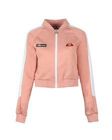 Ellesse Womens Pink Insalata Crop Top Jacket
