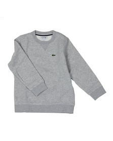 Lacoste Sport Boys Grey Small Logo Sweatshirt
