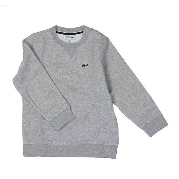 Lacoste Sport Boys Grey Small Logo Sweatshirt main image