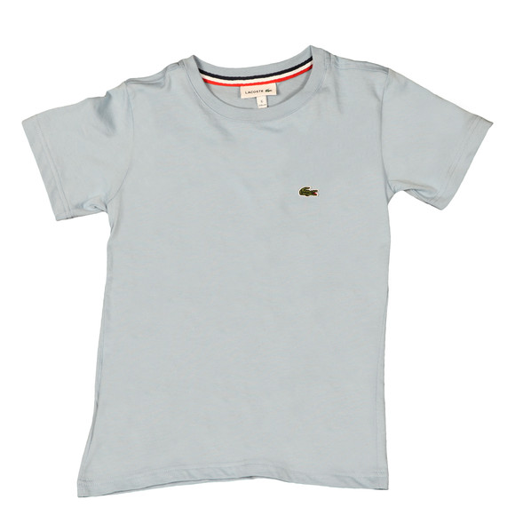 Lacoste Boys Blue Small Logo T Shirt main image