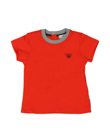 Armani Baby Boys Orange Small Logo T Shirt