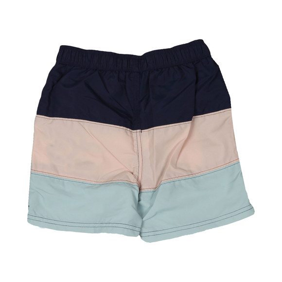 Lyle And Scott Junior Boys Blue Colour Block Swim Short main image
