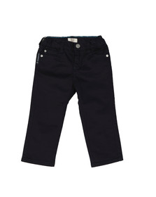 Armani Baby Boys Blue Regular Fit Chino