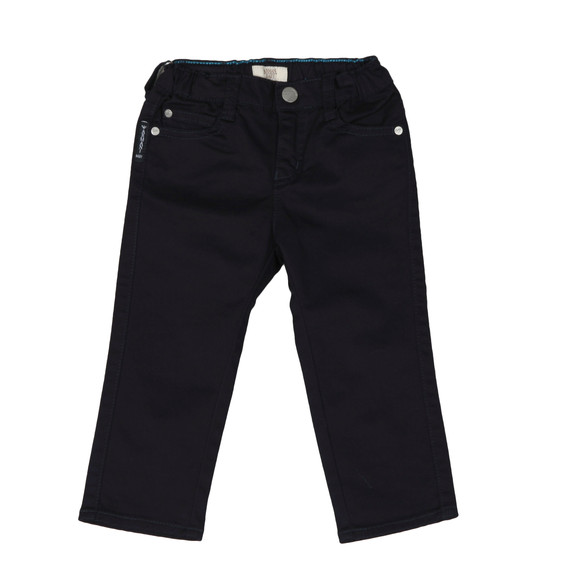 Armani Baby Boys Blue Regular Fit Chino main image