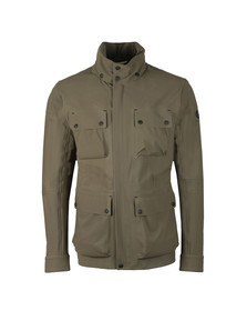 Belstaff Mens Green Trialmaster Evo Jacket