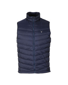 Gant Mens Blue Airie Down Gilet