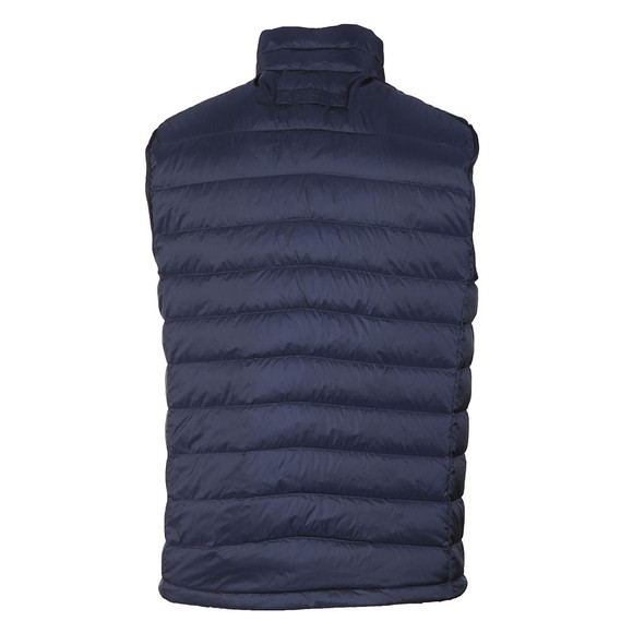 Gant Mens Blue Airie Down Gilet main image