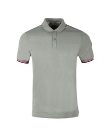 Colmar Mens Grey Tipped Sleeve Polo Shirt