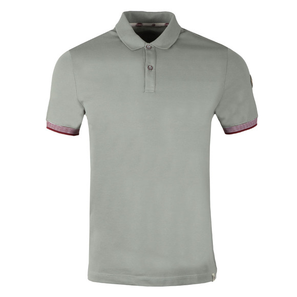 Colmar Mens Grey Tipped Sleeve Polo Shirt main image