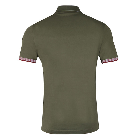 Colmar Mens Green Tipped Sleeve Polo Shirt main image