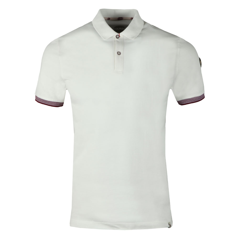 Tipped Sleeve Polo Shirt main image