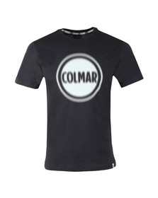 Colmar Mens Blue Large Logo T Shirt