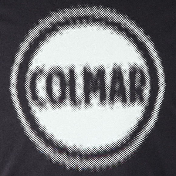 Colmar Mens Blue Large Logo T Shirt main image