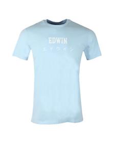 Edwin Mens Blue Japan T Shirt