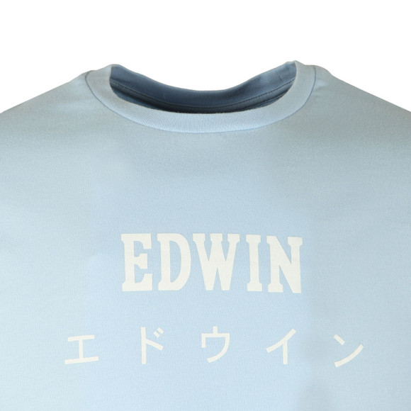 Edwin Mens Blue Japan T Shirt main image