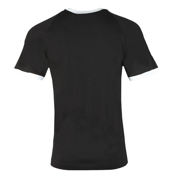 Adidas Originals Mens Black 3 Stripes Tee main image