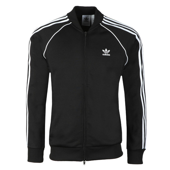 adidas Originals Mens Black SST Track Top main image