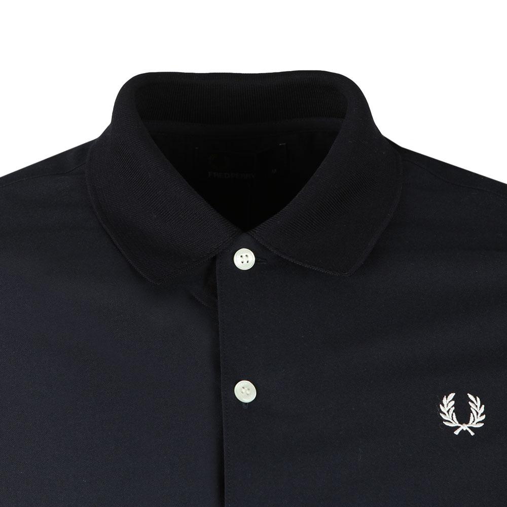 S/S Knitted Collar Shirt main image