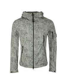 C.P. Company Mens Grey 50 Fili GD Camo Print Jacket