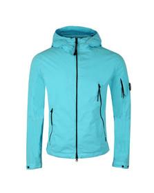 CP Company Mens Blue 50 Fili Hooded Jacket