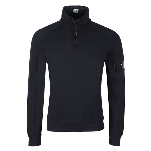 C.P. Company Mens Blue Half Zip Sweat main image