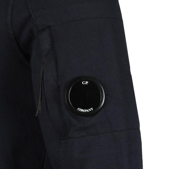 CP Company Mens Blue Half Zip Sweat main image