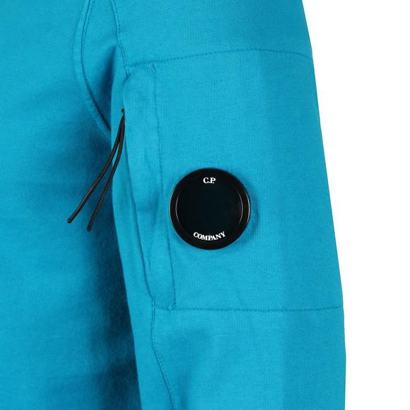 C.P. Company Mens Blue Half Zip Sweat main image
