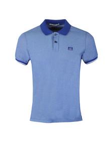 CP Company Mens Blue Tacting Polo Shirt
