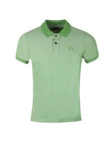 CP Company Mens Green Tacting Polo Shirt