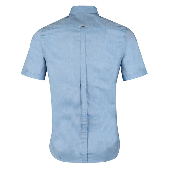 Fred Perry Mens Blue Classic Oxford S/S Shirt main image